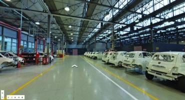Le Officine Abarth di Torino su Google Street View, è il primo caso in Europa