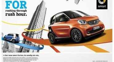 """""""FOR"""" la nuova campagna internazionale di prodotto per la smart fortwo e forfour"""