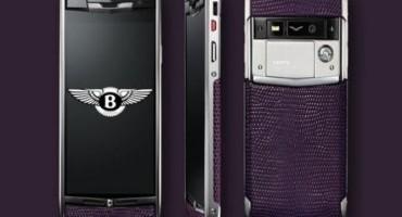 Vertu e Bentley insieme per uno Smartphone di lusso