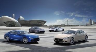 Maserati: eccellenti i risultati del terzo trimestre 2014