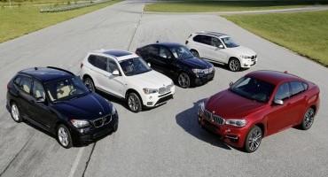 BMW X: 15 anni di modelli a trazione integrale