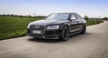 ABT POWER S fa volare l'Audi S8, un lampo da 0 a 100 km orari, solo 3,6 secondi