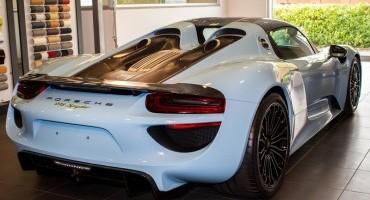 A Perugia la prima Porsche 918 Spyder per il mercato italiano