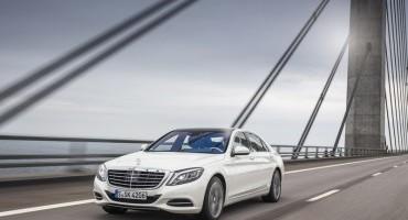 Mercedes S-Class, vendute oltre 100.000 unità nel mondo