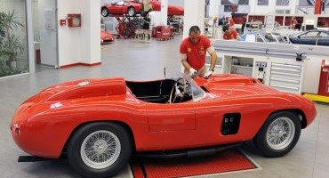 Ferrari 290, l'auto delle leggende