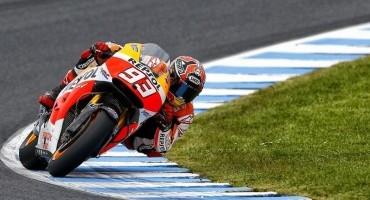 MotoGP, Phillip Island, Marquez in pole è la 12ª della stagione, raggiunge così Doohan e Stoner