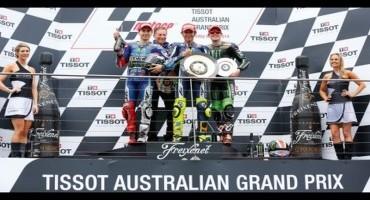 MotoGP- GP Australia : il Dottore è tornato, Rossi vince e raggiunge l'82° successo nella Top Class