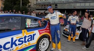 ACI Sport, Italiano World Rally Car, Luca Pedersoli e Matteo Romano (Citroen C4 WRC), i nuovi Campioni Italiani WRC.