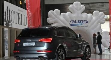 Al via la partnership tra Audi Italia e il comprensorio sciistico Vialattea