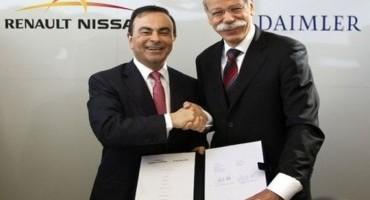 Prosegue la cooperazione tra Renault-Nissan e Daimler