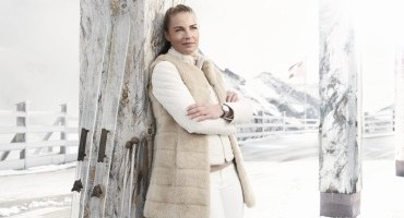 Tina Maze, campionessa Olimpica di Sci è la nuova ambasciatrice di Alpina Watches