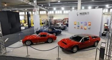 Maserati presente al Salone Auto e Moto d'Epoca di Padova