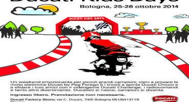 A Borgo Panigale il Ducati Kids Days