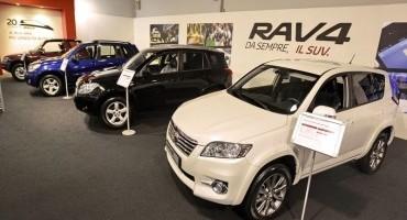 Toyota celebra il ventennale del RAV4, il SUV 4×4 più venduto in Italia negli ultimi 20 anni