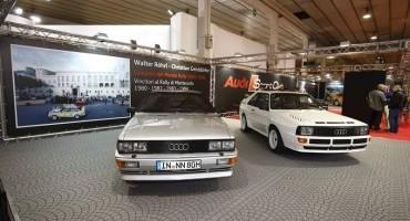 """Audi celebra la trazione quattro ad """"Auto e Moto d'Epoca"""""""