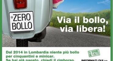 Lombardia, i cinquantini non pagheranno più il bollo