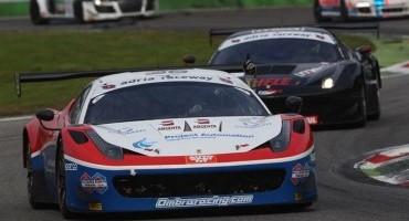 ACI Sport, Italiano GT, Monza, all'equipaggio Costantini-Frassineti (Ferrari 458 Italia) la vittoria in Gara 1