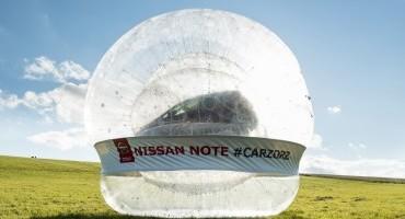 La tecnologia Safety Shield di Nissan Note a prova di sfera