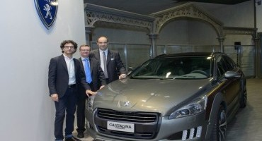 Una Peugeot 508 RXH Castagna viene donata al Museo De L'aventure Peugeot