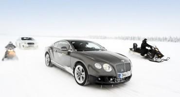 Bentley: la Continental GT3-R ritorna in Finlandia per Power On Ice 2015