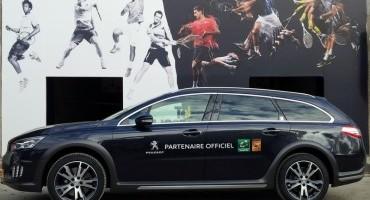 PEUGEOT sempre più coinvolta nel tennis con il Paris Bercy BNP PARIBAS Masters Open di tennis