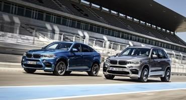 Prova di forza in casa BMW, pronte le nuove BMW X5 M e X6 M