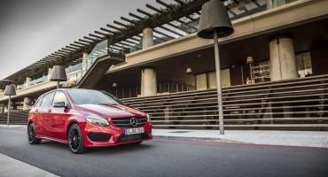 Mercedes, facelift per la compatta di casa, la Classe B