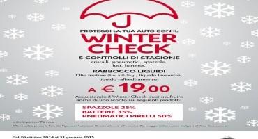 """CITROËN Italia: parte con il """"WINTER CHECK"""" 2014"""
