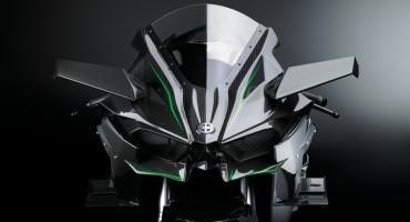 Kawasaki H2R il modello stradale sarà svelato ad EICMA 2014
