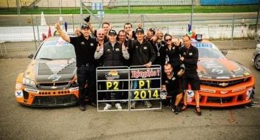 EuroV8Series: Hockenheim consacra i nuovi campioni 2014, Francesco Sini e la sua Chevrolet Camaro