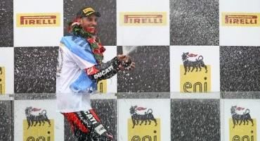 Coppa FIM Superstock 1000 Cup, Magny-Cours: Leandro Mercado (Ducati 1199 Panigale R) vince il titolo piloti