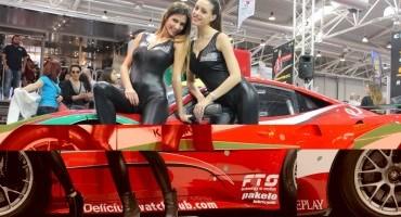 Supercar Roma Auto Show, tutto pronto al via con Giancarlo Fisichella