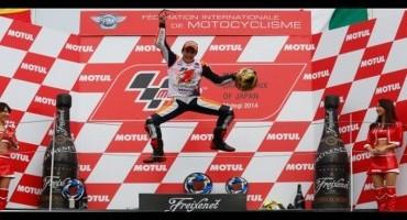 MotoGP, Motegi: Marquez è campione del mondo, Lorenzo vince la gara, Rossi giunge 3°