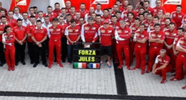 Formula1 – GP di Russia – Scuderia Ferrari: tutti uniti intorno a Jules