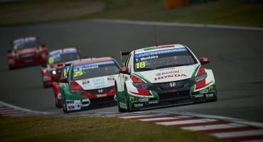 FIA WTCC, in Cina primo successo della Honda