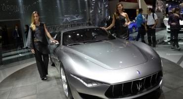 Maserati: il fascino della concept Alfieri al MEF di Modena, dal 21 al 30 ottobre