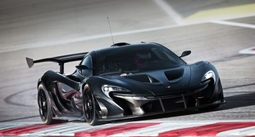 First Look at the Track-focused McLaren P1™ GTR , interior as bespoke driver programmed confirmed