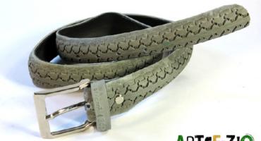 Artefizio lancia BiciNtura, la cintura realizzata con copertoni di bicicletta recuperati
