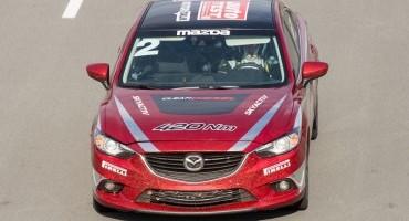 Mazda6 con motorizzazione diesel raggiunge il record di velocità