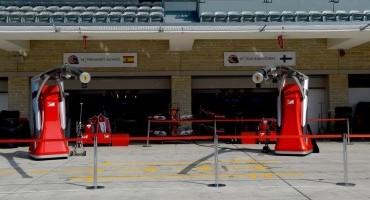 Formula1, Gp degli Stati Uniti, Ferrari in terza e quarta fila