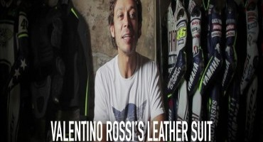 "Dainese lancia il Webisode #2: ""Valentino Rossi's leather suit"""