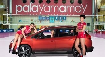 Le Pallavoliste e lo Staff tecnico della Unendo Yamamay viaggeranno in Peugeot