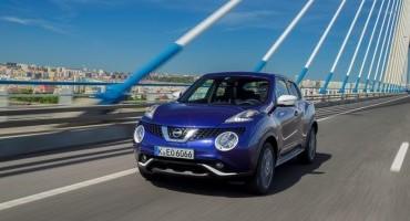 Nissan presenta Juke in versione bifuel benzina 1.6 l/gpl da 115 cv