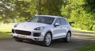 First road testing of the new Cayenne S E-Hybrid