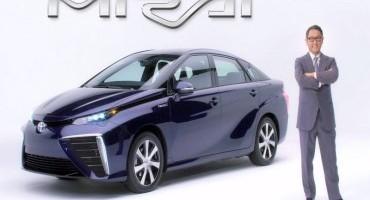 Toyota, la nuova vettura ad idrogeno si chiamerà MIRAI
