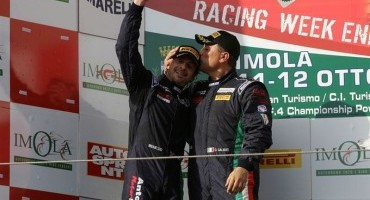Omar Galbiati termina una stagione fantastica con la conquista del titolo GT Cup