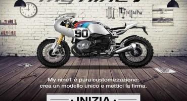 """EICMA 2014,  BMW Motorrad invita tutti gli appassionati a personalizzare la moto con il configuratore virtuale """"My nineT"""""""