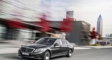 Esclusività e lusso con grande eleganza, da Mercedes-Maybach Classe S