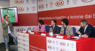 Kia Motors Italia e AIC, uno sforzo congiunto per favorire l'integrazione e promuovere la lotta al razzismo