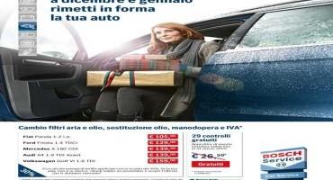 Alla manutenzione della tua auto ci pensa Bosch, con Winter check up